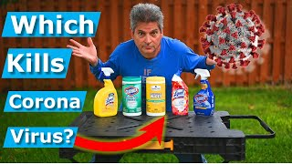 How To Tell If Disinfectants/Wipes Kill CoronaVirus: EPA List N