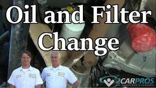 Oil Change and Filter Chevrolet Tahoe 2015