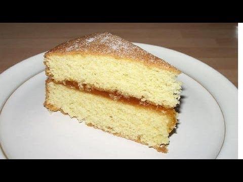 Video Basic Eggless Sponge Cake Recipe Video by Bhavna