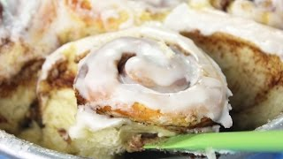 Easy Cinnamon Rolls - Healthier, Faster, Only One Rise