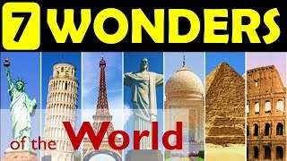 7 wonders of the World | Update your General Knowledge