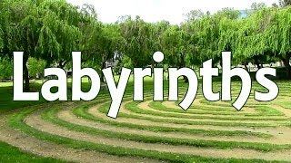 Walking a Labyrinth (#withcaptions)