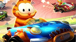 ► Garfield Kart   Furious Racing   The Movie | All Cutscenes (Full Walkthrough HD)
