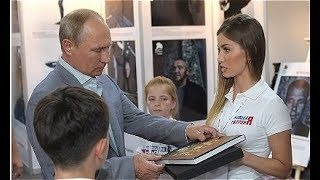 Putin Visits Youth Forum: Committed Volunteers Work Far Better Than Entrenched Bureaucrats