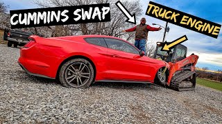 Cummins Swapping a Mustang. How Hard CAN IT BE?