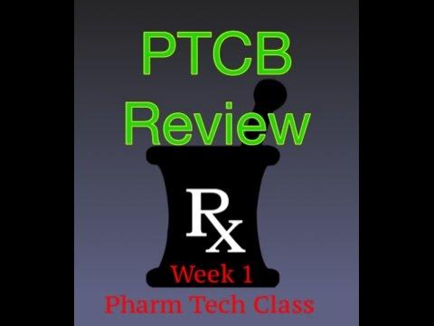 Week 1 Pharmacy Technician Class - YouTube