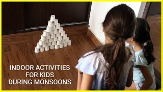 Indoor Activities For Kids During Monsoons