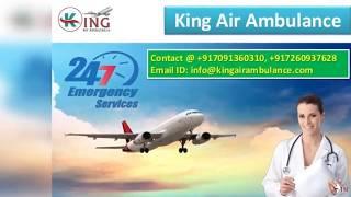 King Air Ambulance Transferred Patient from Kolkata to Delhi Fast