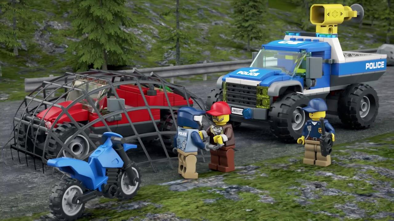 Lego City Klocki Pościg Górską Drogą 60172 Lego Sklep Empikcom