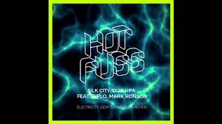 Silk City, Dua Lipa (feat. Diplo, Mark Ronson)   Electricity (Sem Thomasson Remix)