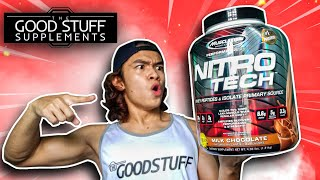 MuscleTech Performance Series Nitrotech Whey Protein Review 2021!!!