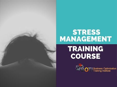 STRESS MANAGEMENT TRAINING COURSE - YouTube