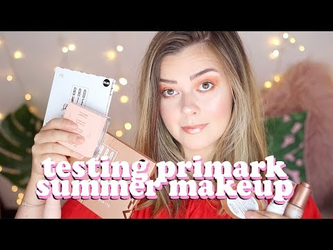 AVERAGE GIRL TRIES PRIMARK SUMMER MAKEUP - PS BRONZE RANGE | LUCY WOOD