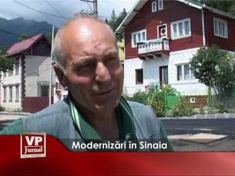 Modernizări în Sinaia