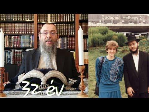 368 A rebecennel 32 éve szolgálunk Budapesten – Oberlander Báruch (a mikve a zsidó házasság alapja)