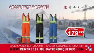Promotions – Centre de Liquidation du Québec – Novembre – 2019