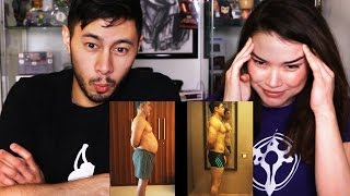 FAT TO FIT | Aamir Khan Body Transformation | Dangal | REACTION!