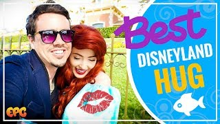 Best Hug from Disneyland Ariel EVER w/ Adam The Woo