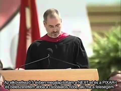 Steve Jobs híres avatási beszéde