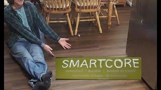 SMARTCORE flooring installation & review
