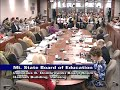 Michigan State Board of Education Meeting for June 11, 2019 - Afternoon Session Part 1