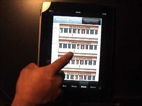 IPHONE - MIDI - Jazz Chord Progression Creator - Guitar - Piano