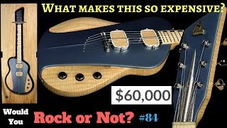 Why Is This Guitar $60,000?!? Sauvage Guitar