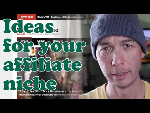 AFFILIATE NICHE IDEAS from Existing Affiliate sites with Doug Cunnington