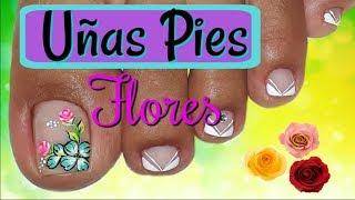 Como Pintar Uñas Delos Pies Con Flores 免费在线视频最佳电影电视