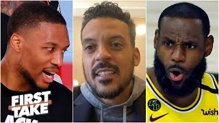 Matt Barnes: The Blazers are a legitimate threat to the Lakers | First Take