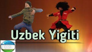 Òzbek Yigiti Rossiyani qoq markazida lezginkaga raqsga tushdi