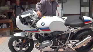 ヨシムラサウンドを聞け 2017 BMW R9T 2017 BMW R NineT BMW Motorrad Japan 2017 BMW R Nine T Racer カフェレーサー