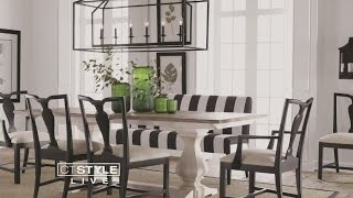 Ethan Allen Design Tip: Add Style To Your Dining Room Table