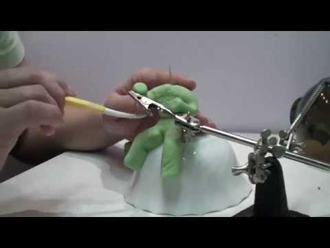 Как создать фигурку рыбака из мастики