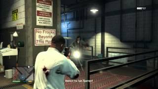 GTA 5: Прохождение - Миссия 56 - Свежее мясо