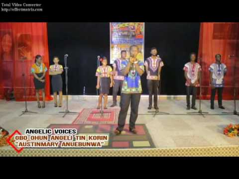 Gbo ohun Angeli Tin Korin! Christmas song by Austinmary of Graciedion chorale