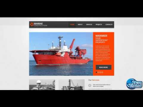 Download Marine Company Wix Website Template by  Mercury