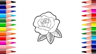 Flower Coloring Pages For Kids, Coloring Book Videos