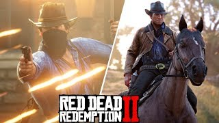Red Dead Redemption 2 HUGE! NEW GAMEPLAY LEAK (Weapons, Horses, Online, & FULL MAP) *RDR2*