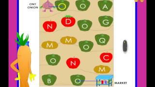 Letter O Identification / Recognition Worksheet - Kindergarten