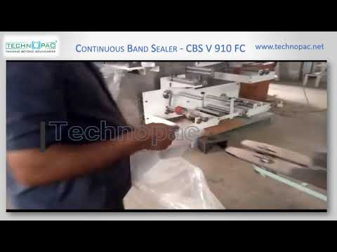 Heavy Bags Continuous Band Sealer