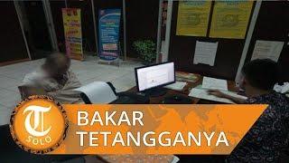 Ditegur karena Pegang Sebotol Bensin dan Korek, Pria di Palembang Bakar tetangganya