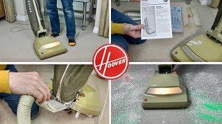 """1978 Hoover U4014 """"Shake N Vac"""" Ranger Senior Vacuum Cleaner"""