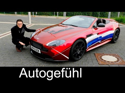 Aston Martin V12 Vantage S Roadster FULL REVIEW test driven 580 hp - Autogefühl