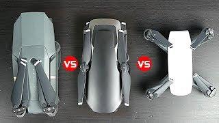 DJI Mavic AIr vs Mavic Pro vs Spark - Which One is best?