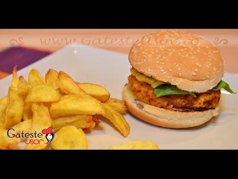 0 Cele mai bune rețete de burger de pui