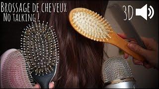 ASMR | Hair Brushing + Hair Play & Brushes - No Talking
