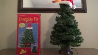 Gemmy Animated Douglas Fir The Talking Christmas Tree (Orange Eyed Version)