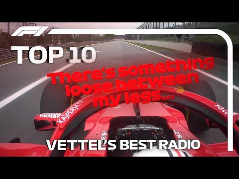 Sebastian Vettel's Top 10 Radio Moments in F1