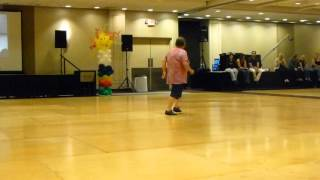 Never Ever Line Dance Demo by Larry Bass @ WCLDM 2015